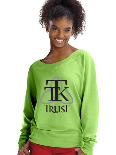 TRUST Scoop Neck Sweat Shirt (item #74)