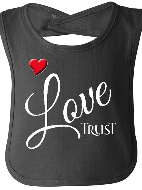 Love TRUST Jersey Bib