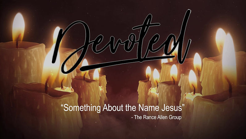 "Devoted sings ""Something About the Name Jesus"""