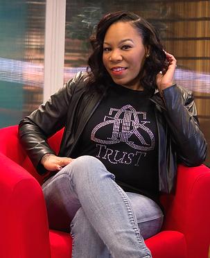 Jovita Sheppard, recording artist, worship leader, pastor. @jovitasheppard