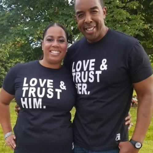 LOVE & TRUST HIM (unisex shirt)
