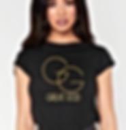 GREAT GOD Studded T-shirt