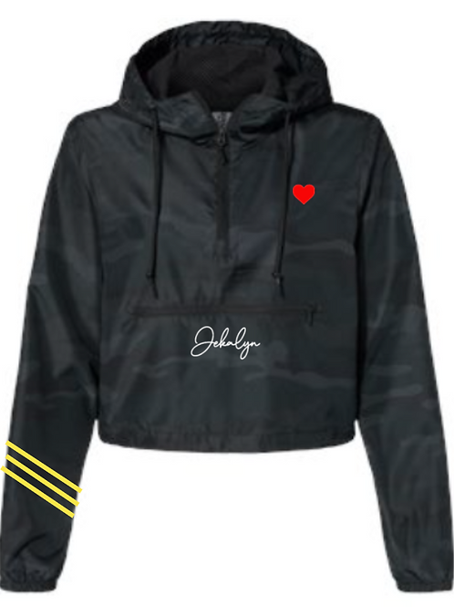 JEKALYN Crop Windbreaker