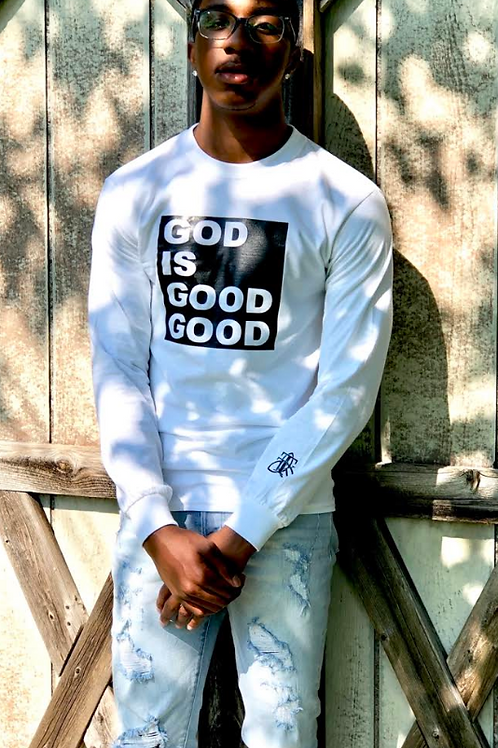 God is Good Good Long Sleeve tee (unisex)