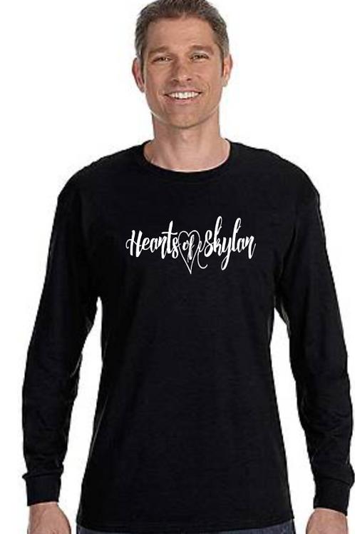Hearts of Skylar Long Sleeve T-shirt (unisex)