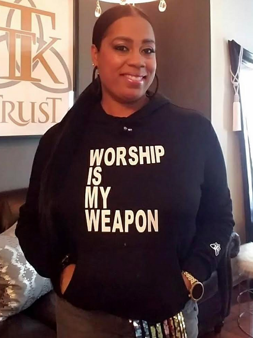 WORSHIP IS MY WEAPON