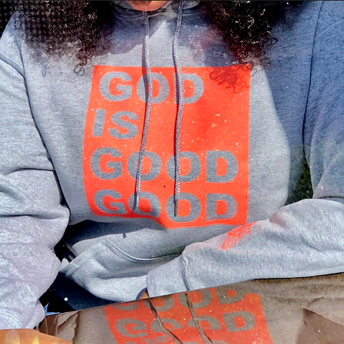 GOD IS GOOD GOOD Glitter Logo (Unisex)
