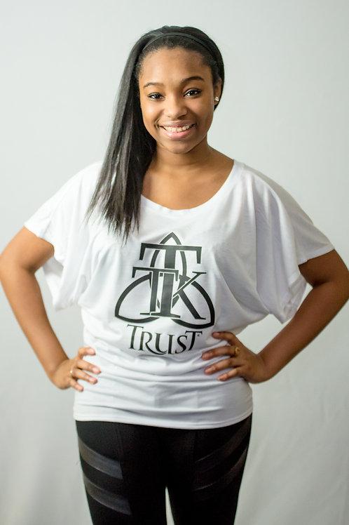 TRUST Flowy Tshirt....... (item #35)