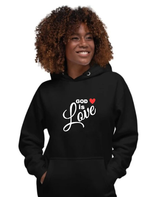 GOD IS LOVE Hoodie (Unisex)