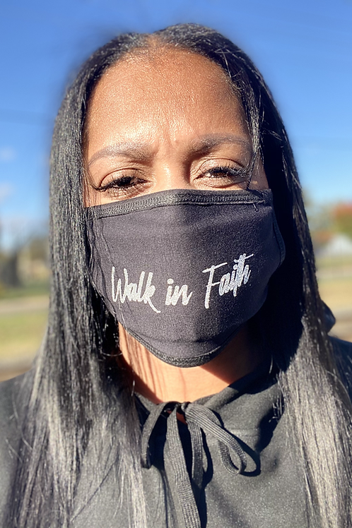 Walk in Faith Unisex Mask