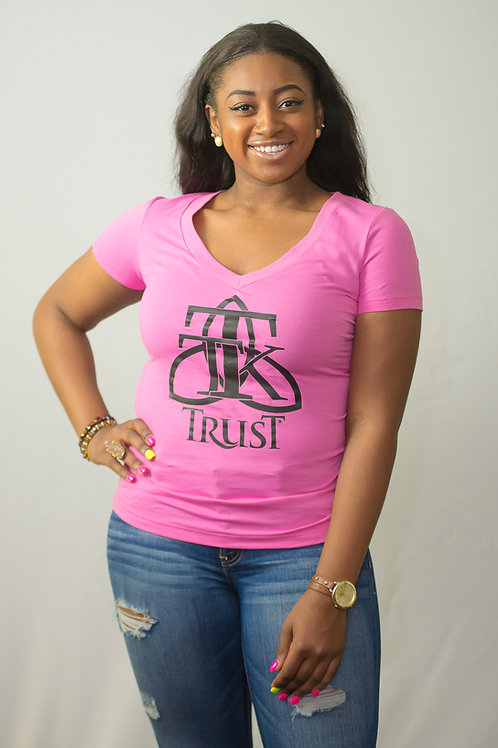 TRUST Vneck Fitted Tshirt... (item #46)
