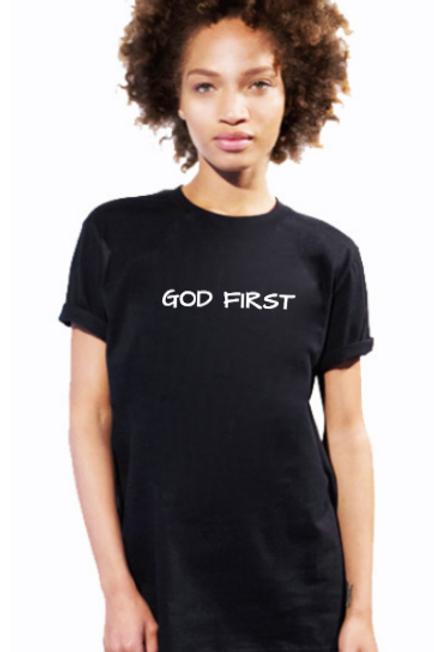 God First Ladies Tee