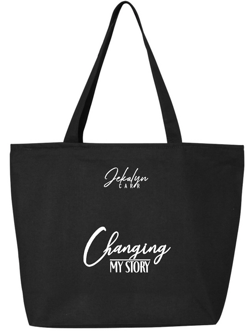 Changing My Story JCarr Tote Bag