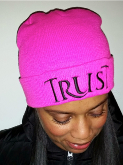TRUST Knit Hat, Unisex 1