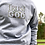 Thumbnail: (Unisex) TRUST GOD Crew Neck Sweatshirt