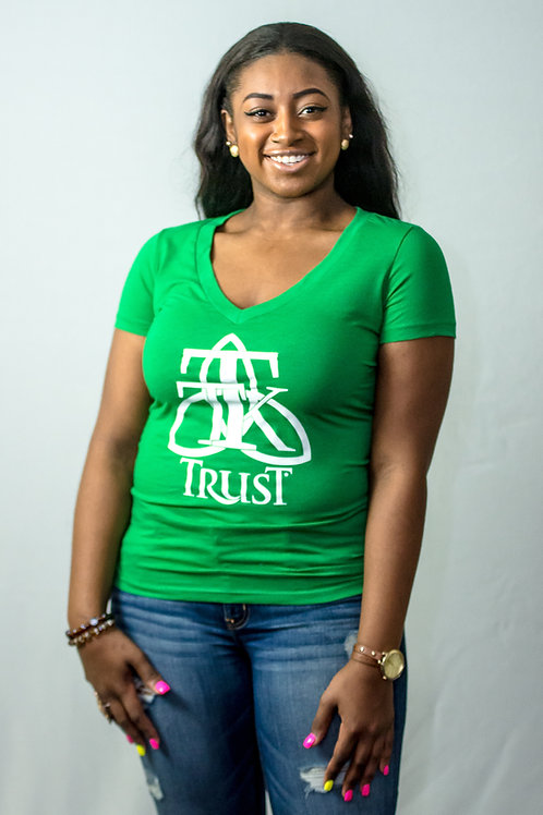 TRUST Vneck Fitted Tshirt... (item #45)