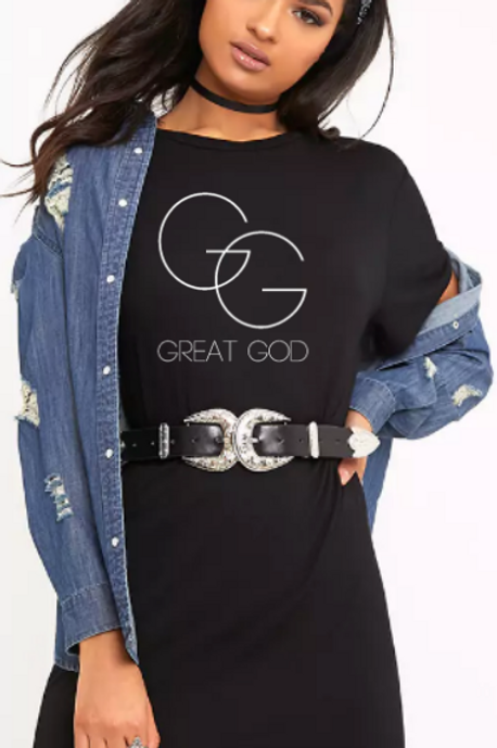 GREAT GOD T-shirt Dress