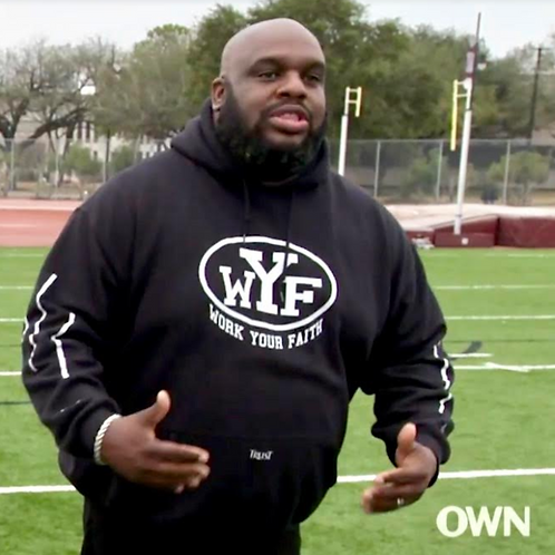 WORK YOUR FAITH Hoodie (JOHN GRAY)