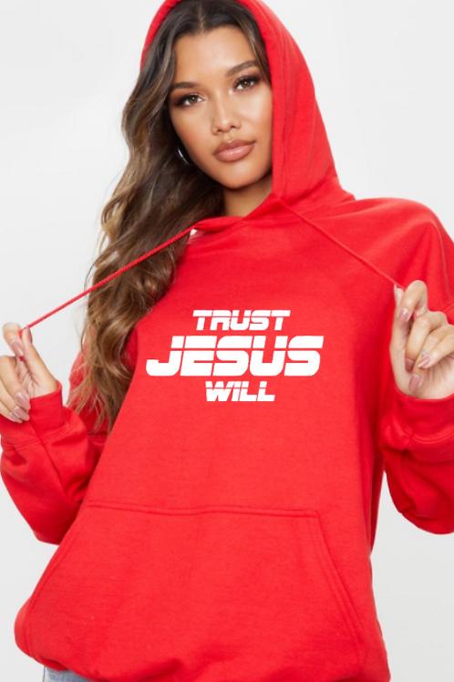 TRUST JESUS WILL Hoodie (unsiex)