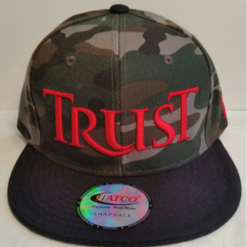 Men's TRUST Snapback Hat Style# 09