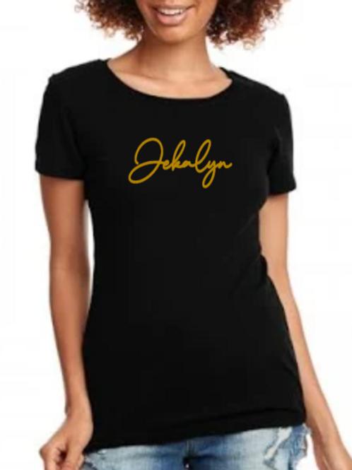 JEKALYN ladies fitted T-shirt