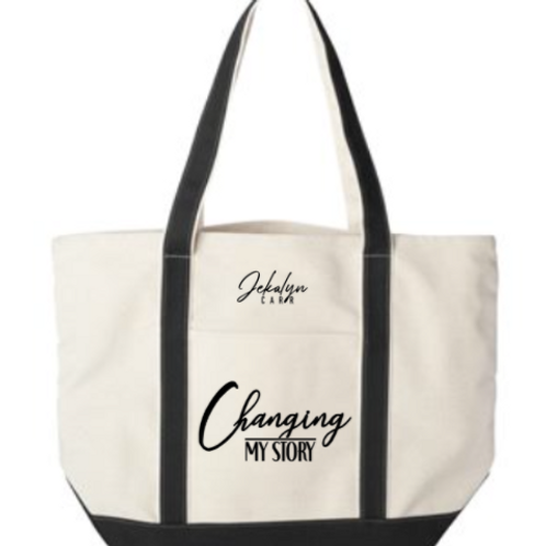 Changing My Story Tote Bag