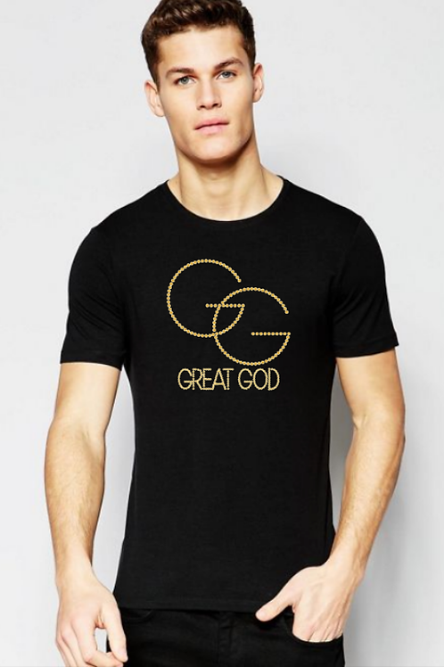 GREAT GOD Studded Tee (m)