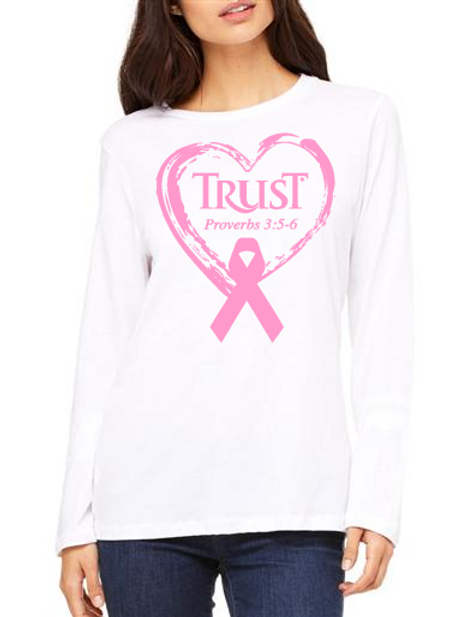 TRUST Heart Ribbon Breast Cancer #236