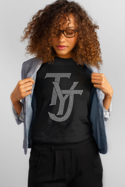 TYJ (THANK YOU JESUS) Ladies Studded Tee