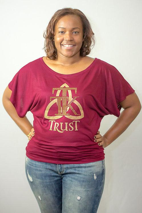TRUST Flowy Tshirt....... (item #36)