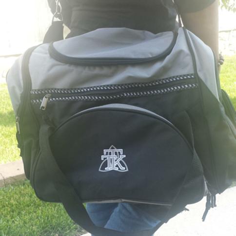 TRUST Monogrammed Gym Bag
