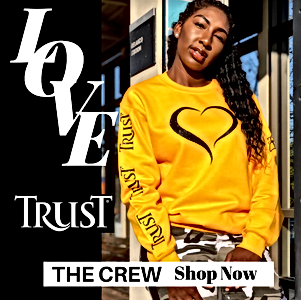 LOVE TRUST CREW SWEATSHIRT