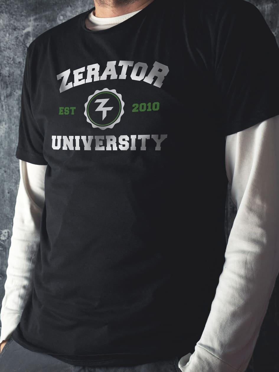 Tee-Shirt ZeratoR University