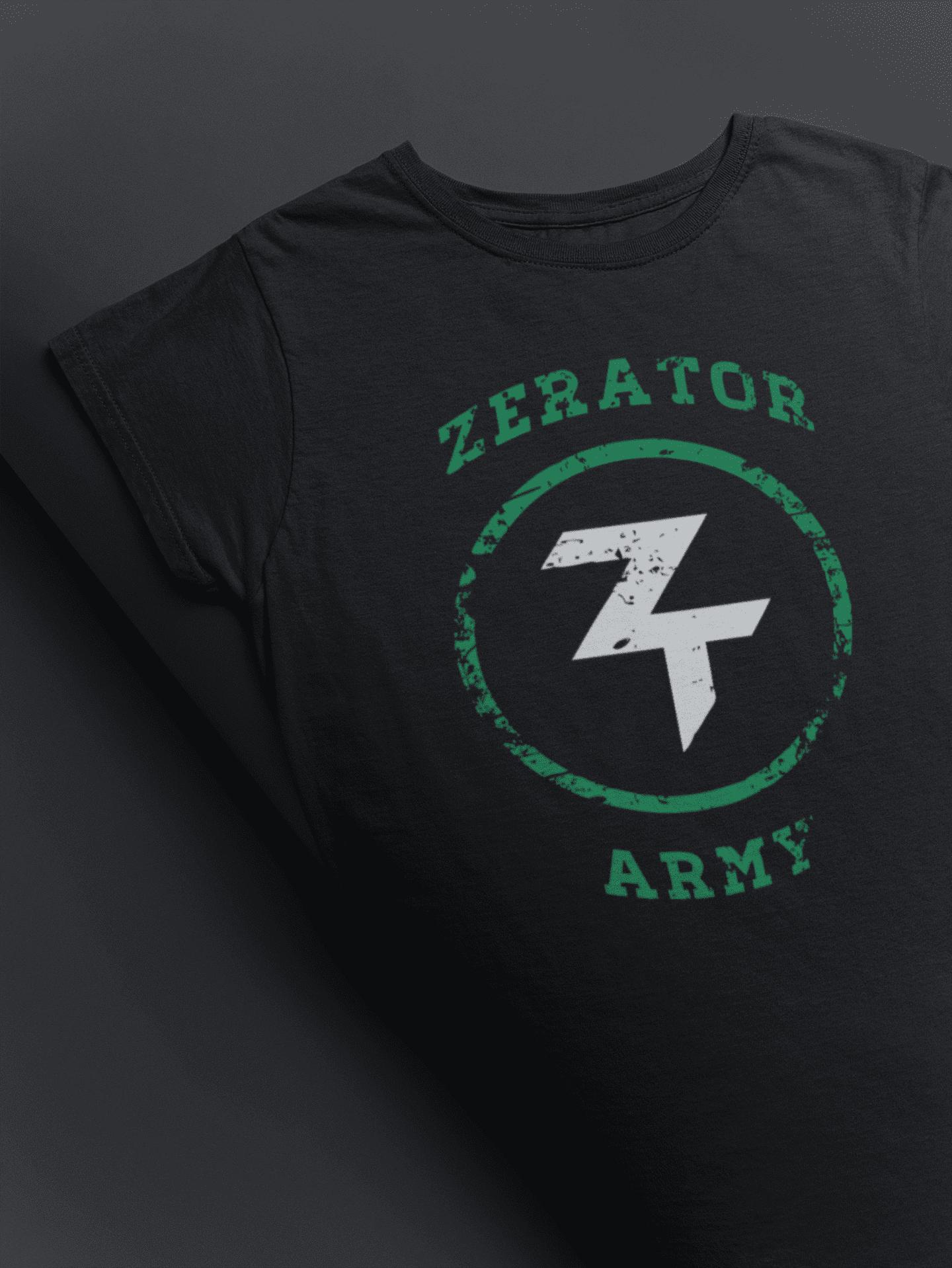 Tee-Shirt ZeratoR Army | Boutique ZeratoR