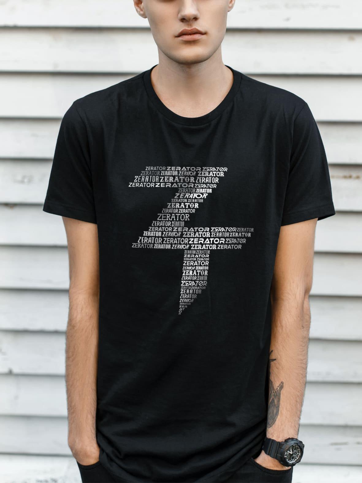 Tee-Shirt ZeratoR Tagcloud