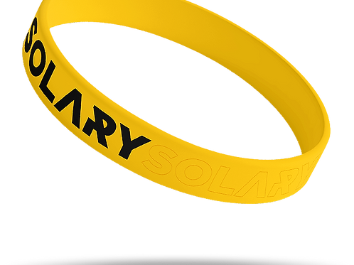 Bracelet jaune SOLARY
