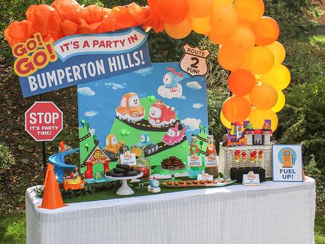 Go! Go! Cory Carson Car Themed Kids Party
