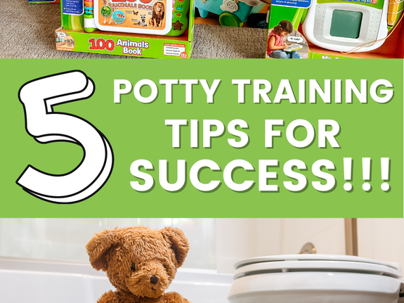 5 Potty Training Tips for Success!