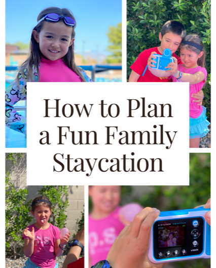 How To Plan a Fun Family Staycation