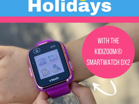'Tis the Season to be Organized with the KidiZoom® Smartwatch DX2!