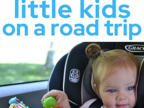 How To Entertain Kids on a Road Trip