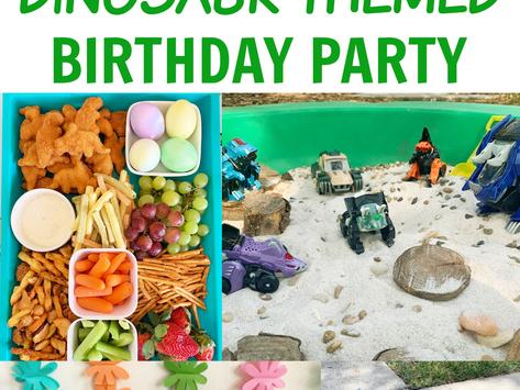 Dinosaur Birthday Party for Kids