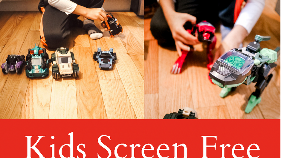 Screen-Free Summer Activities for Kids!