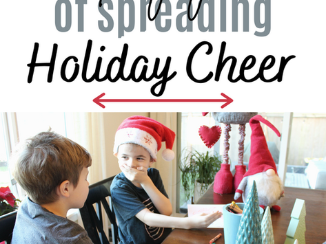 Teach Your Kids the Joy of Spreading Holiday Cheer
