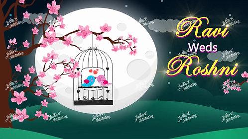 Superior Love Bird Wedding Invitation