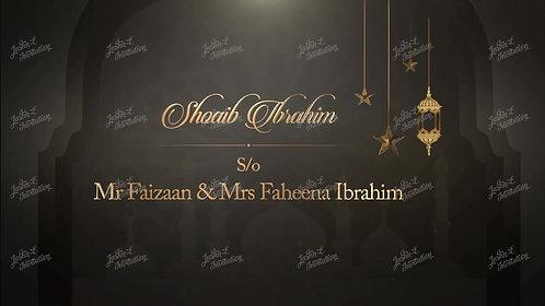 Nikah Wedding Invitation