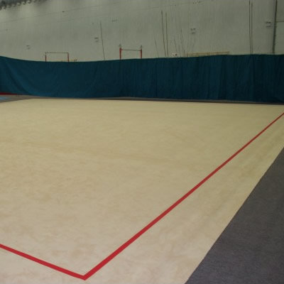 Suelo de gimnasia rítmica- FIG aprobado (ALFOMBRA Y BASE)