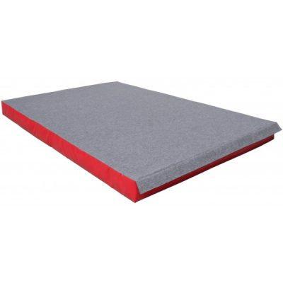 Colchoneta de aterrizaje de la gimnasia-superficie de alfombra