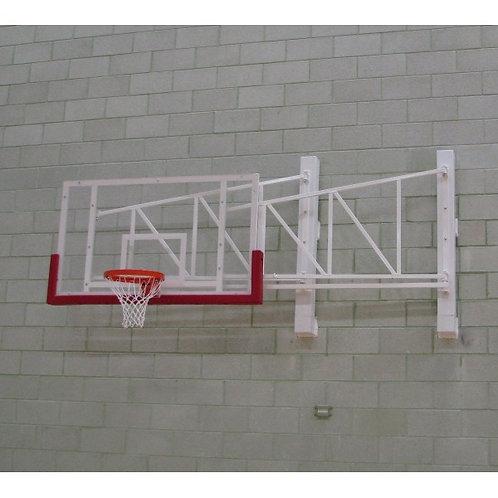 Canasta de baloncesto – Competición estándar – Pared fija, pliege lateral