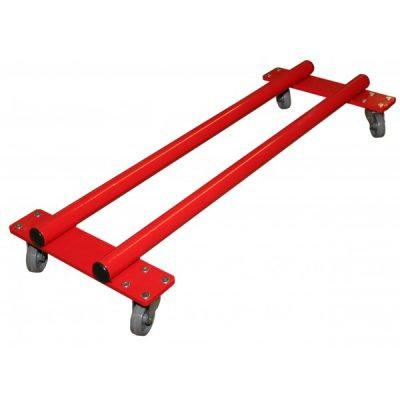 Carrito de transporte para barra de equilibrio